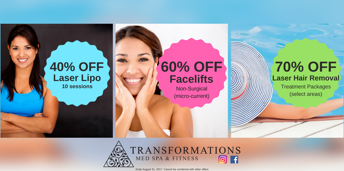 40 70 Summer Sale Going On Now At Transformations Med